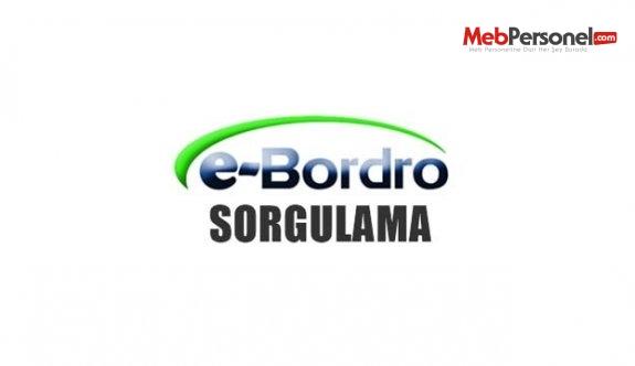 E-Bordro öğretmen maaşı sorgulama nasıl yapılır?