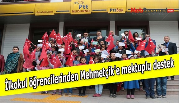İlkokul öğrencilerinden Mehmetçik'e mektuplu destek