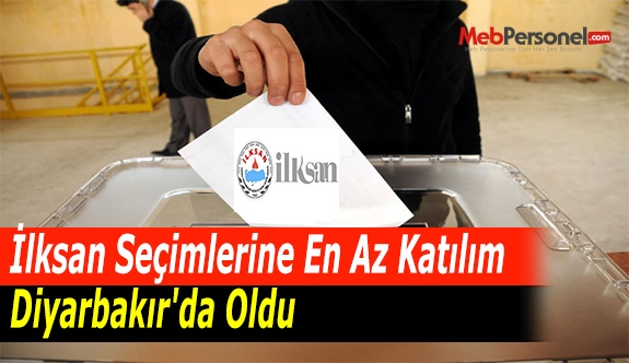 İlksan Seçimlerine En Az Katılım Diyarbakır'da Oldu