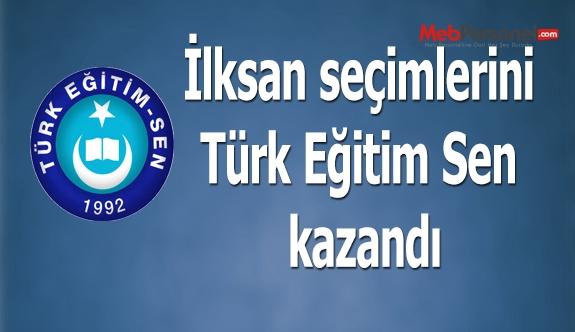 İlksan seçimlerini Türk Eğitim Sen kazandı