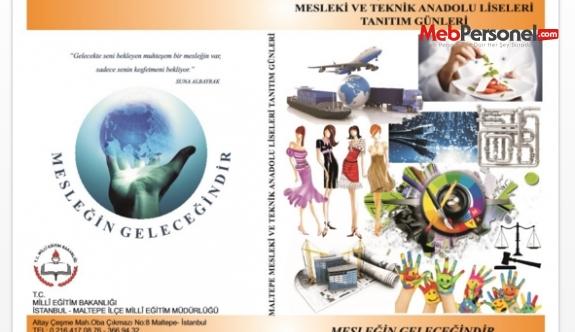 """Maltepe'de """"Mesleki ve Teknik Okullarının Tanıtım Günleri"""""""