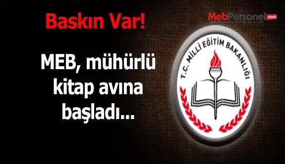 MEB'den Ankara sahaflarında mühürlü kitap avı