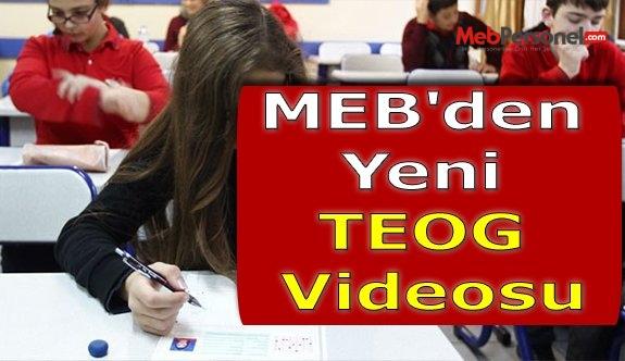 MEB'den Yeni TEOG Videosu
