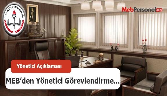 MEB'den yönetici görevlendirme açıklaması