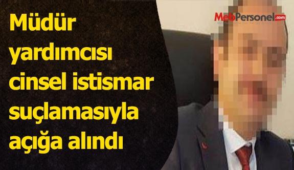 Müdür yardımcısı cinsel istismar suçlamasıyla açığa alındı