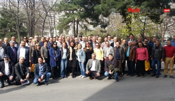 SEKRETERLERİN EĞİTİMİ PROGRAMI ANKARA'DA YAPILDI