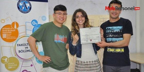Türk öğrecilerden depremin yıkamayacağı proje