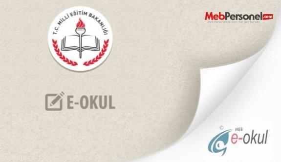 E-okul Veli Bilgilendirme Sistemi 2016