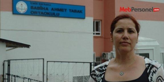İzmir'de okul otoparkının yıkımını veliler engelledi