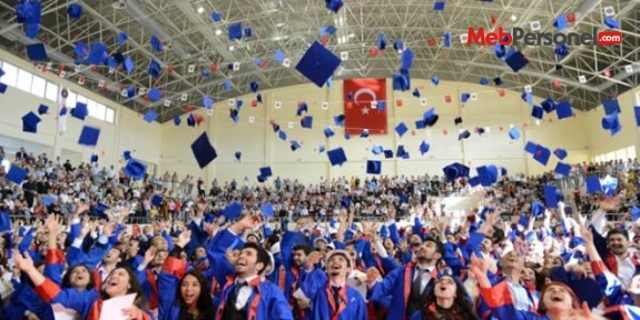 KSÜ'de eğitim gören 7 bin öğrenci, mezun oldu