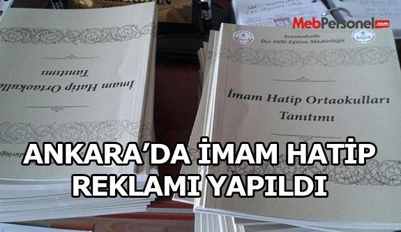 Ankara'da Devlet Eliyle İmam Hatip Reklamı Yapıldı