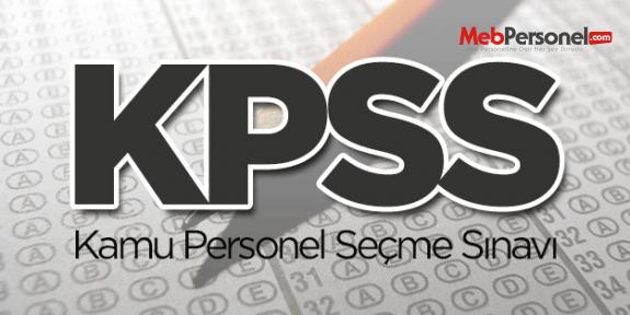 DPB, KPSS tercih kılavuzunda değişiklik yaptı