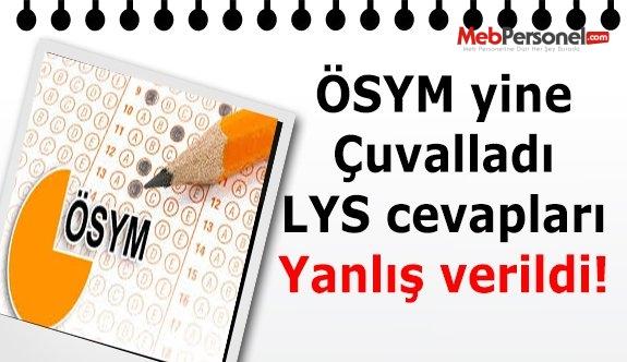 LYS-2 sınavında bir sorunun açıklanan cevabı yanlış iddiası