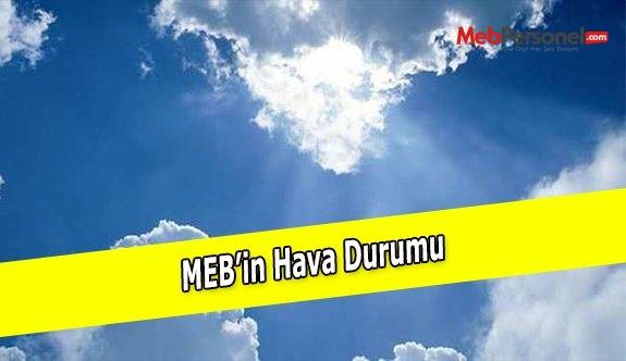 MEB'in Hava Durumu