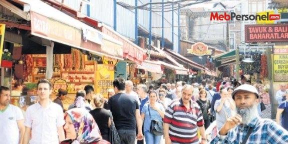 Ramazan 'okullu' oldu halk alışverişe koştu