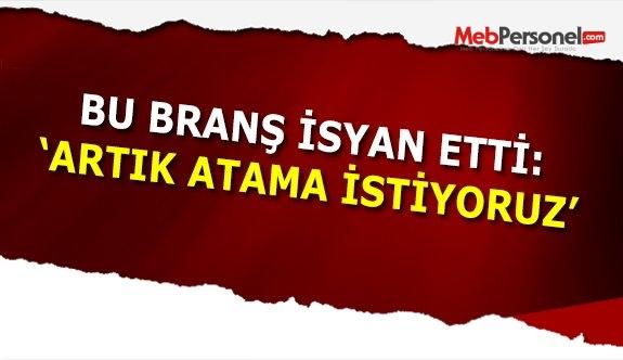 Türk Dili ve Edebiyat Öğretmenleri Artık İsyan etti, atama bekliyor