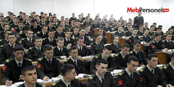 Askeri okullarda okuyan öğrenciler ne olacak?