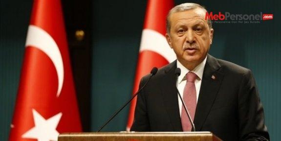 Cumhurbaşkanı Erdoğan: Son duyuruya kadar eyleme devam