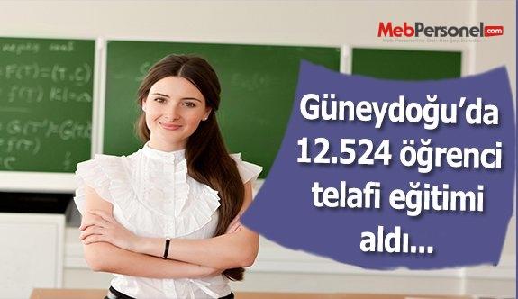 Güneydoğu'da 12 bin 524 öğrenci yatılı telafi eğitimi aldı