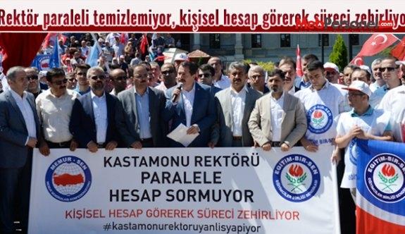 Kastamonu Üniversitesi Rektörü paraleli temizlemiyor, kişisel hesap görerek süreci zehirliyor