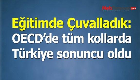 Türkiye problem çözmede de OECD sonuncusu oldu