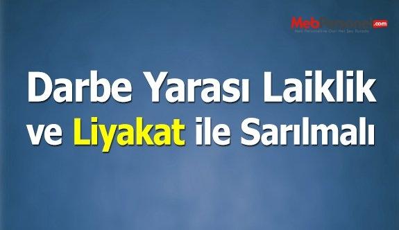 Darbe Yarası, Laiklik ve Liyakat ile Sarılmalı
