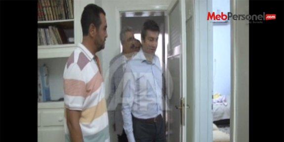 Gazi öğretmen evinde mülakata alındı