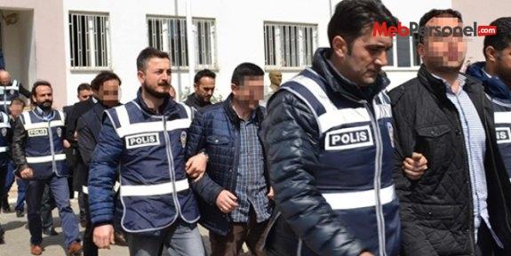 Konya'da gözaltına alınan 9 öğretmenden biri tutuklandı