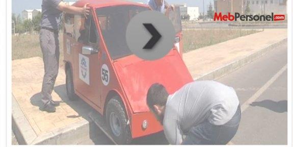 Öğrenciler, 'Diriliş' adlı elektrikli otomobil yaptı