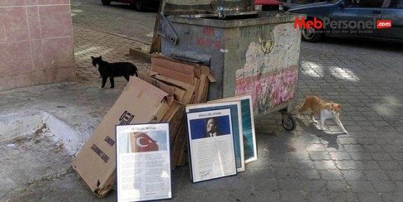 Okul yönetimi, çöpteki Atatürk fotoğrafları için özür diledi