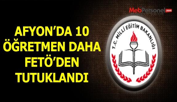 Afyonkarahisar'da Adliyeye sevk edilen 16 öğretmenden 10'u tutuklandı