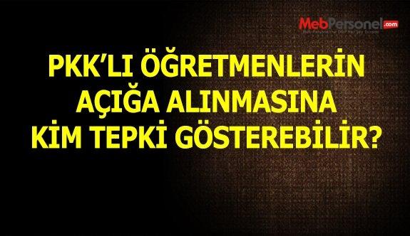 BAŞBAKAN'IN , PKK'LI ÖĞRETMENLER AÇIĞA ALINACAK SÖZLERİNE İLK TEPKİ EĞİTİMSEN'DEN GELİR