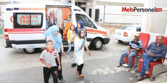 Konya'da 150 öğrenci yedikleri gıda'dan zehirlendi