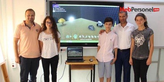 Ortaokul öğrencileri, Microsoft'un Türkiye birincisi oldu