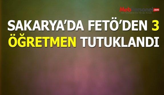Sakarya'da 3'ü öğretmen 6 kamu görevlisi tutuklandı