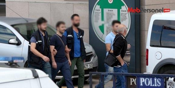 Şanlıurfa'da öğretmenler ve belediye görevlisi 9 şüpheliden 8'i tutuklandı