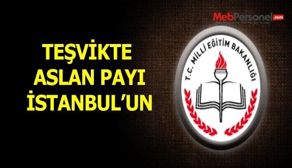 Teşvikte aslan payı İstanbul'un