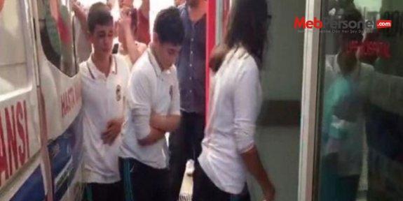 50 öğrenci zehirlendi, ilçede okullar tatil edildi