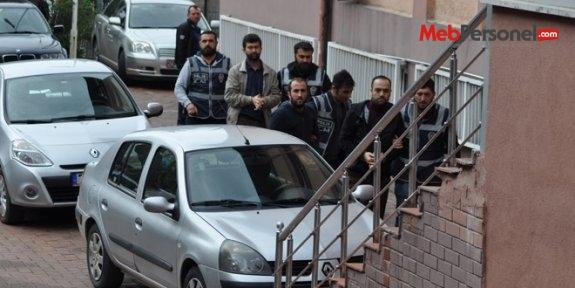 Bartın'da 2 öğretmen ile 1 mühendis tutuklandı