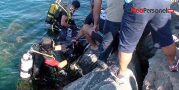 Denize düşen lise öğrencisi hayatını kaybetti