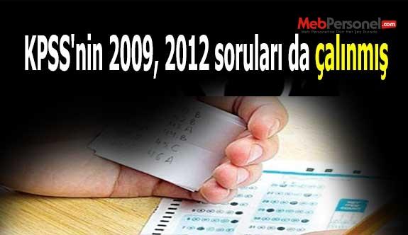 KPSS'nin 2009, 2012 soruları da çalınmış
