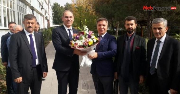 MEB Genel Müdürü Hamza Aydoğdu'dan Ankara İl MEM'e Ziyaret