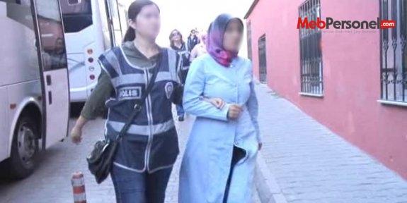 Nevşehir'de bir kadın öğretmen tutuklandı