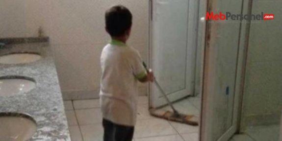 Valilik, 'öğrencinin tuvalet temizlediği' haberini yalanladı