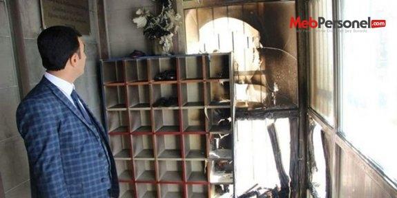 Van'da anaokuluna molotoflu saldırı