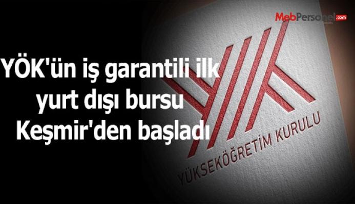 YÖK'ün iş garantili ilk yurt dışı bursu Keşmir'den başladı