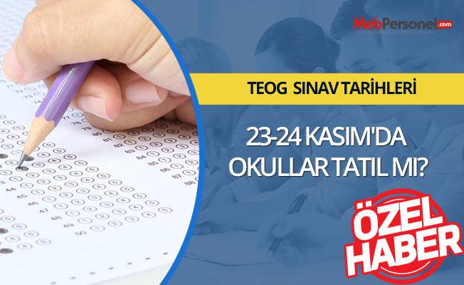 23-24 Kasım'da Okullar Tatil mi?