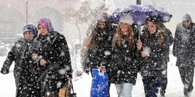 4 il için kuvvetli kar yağışı uyarısı yapıldı