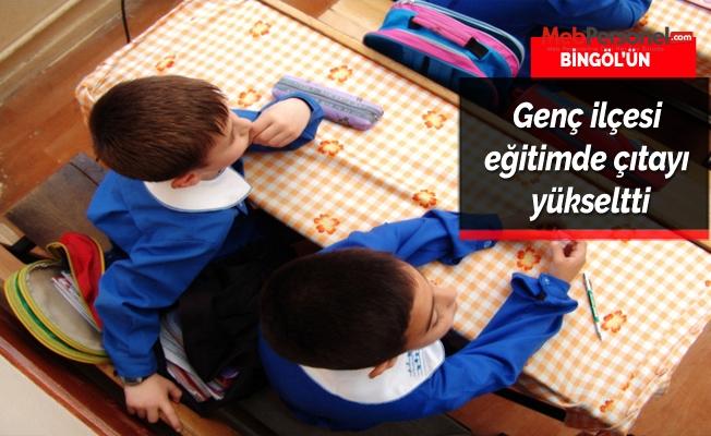 Bingöl'ün Genç ilçesi eğitimde çıtayı yükseltti
