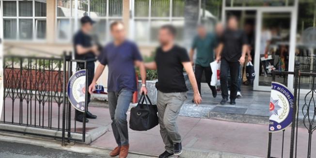 Erzurum'da 1'i polis, 4'ü öğretmen 7 kişi tutuklandı